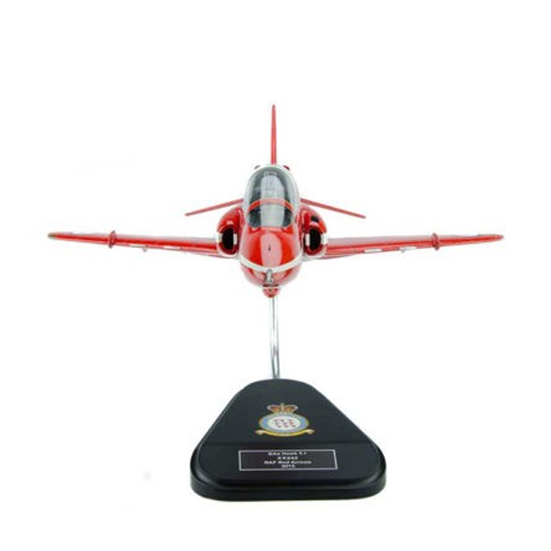 BAE Hawk Red Arrow T-1 RAF Clear Canopy model Bravo delta front red arrows