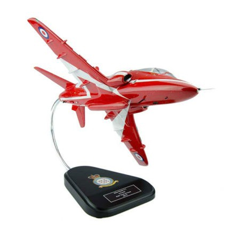 BAE Hawk Red Arrow T-1 RAF Clear Canopy model Bravo delta red arrows front 2