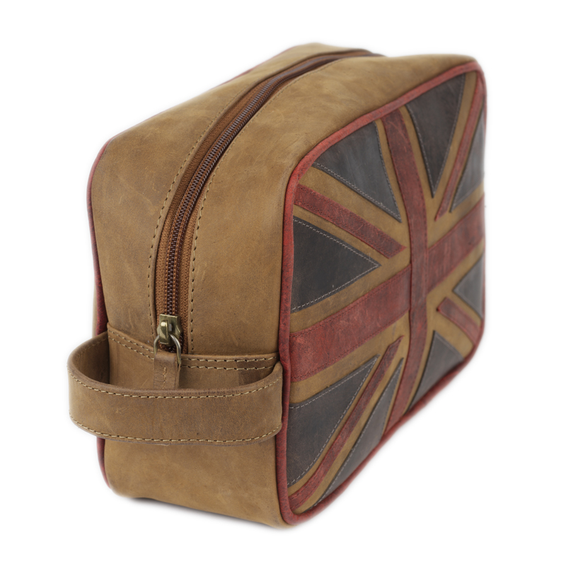 Union Jack Wash bag 3