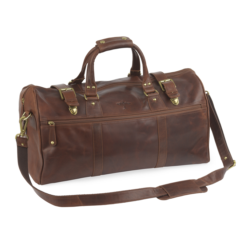 Battle of britain leather holdall image 1