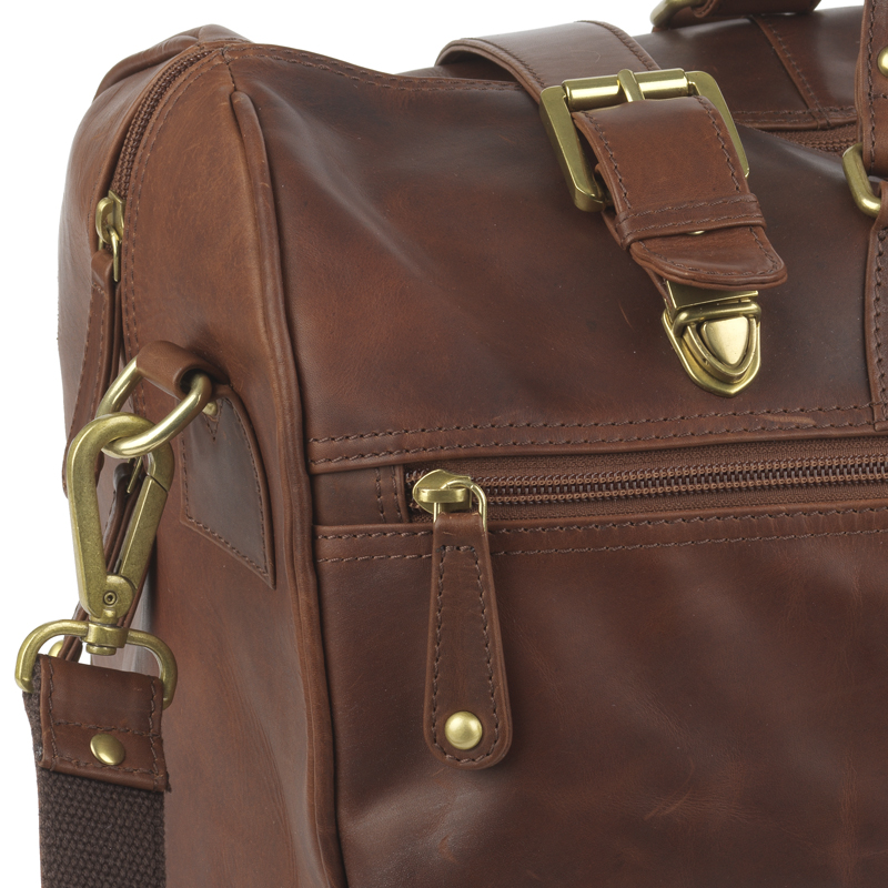 Battle of britain leather holdall image 3