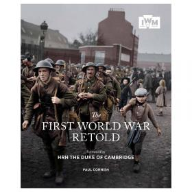 Cover image of First World War retold