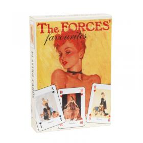 Front image of Forces favourite playing cards