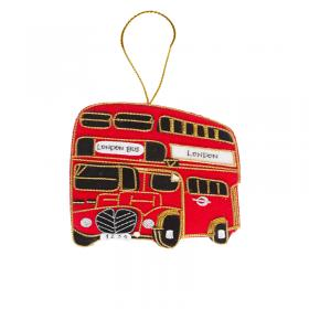 London bus felt decoration