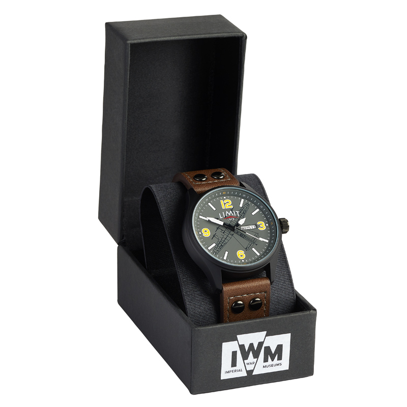 Lancaster Crew Watch boxed