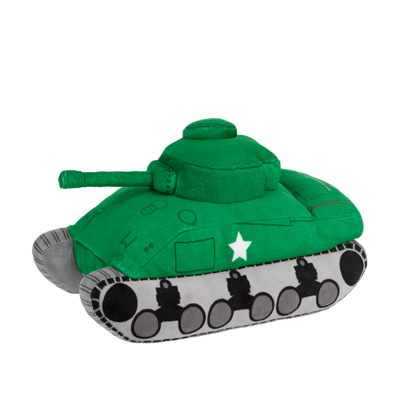 Sherman Tank Soft Toy 2