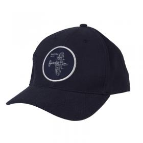 Spitfire blueprint embroidered baseball cap hat main image