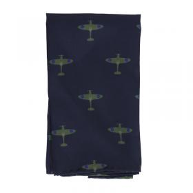 Spitfire classic silk pocket square front