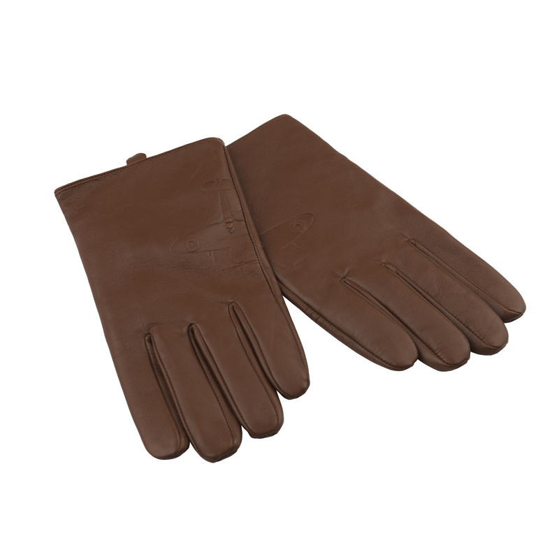 Aviator leather gloves image 1