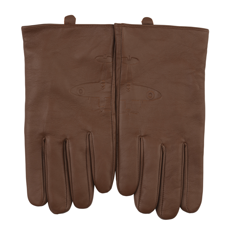 Aviator leather gloves image 2