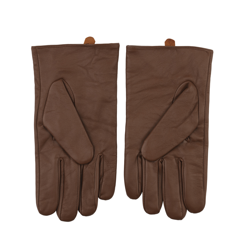 Aviator leather gloves image 3