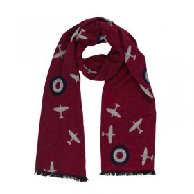 Spitfire and roundels scarf 1