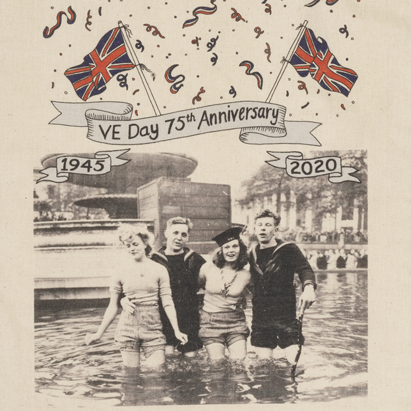VE Day tote image 2