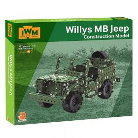 Willy's Jeep construction set box