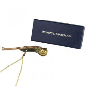 Brass Bosun's Call whistle image 1