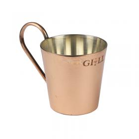 Brass Half Gill Rum Cup image 1