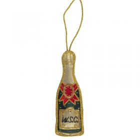 champagne bottle decoration image
