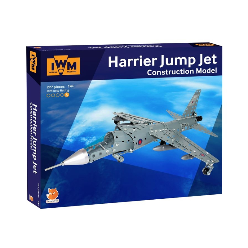 Harrier jump jet construction set image 1
