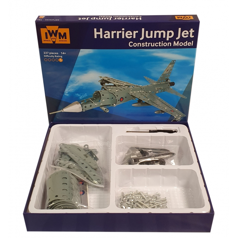 Harrier jump jet construction set image 2