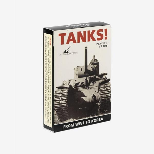 Tanks Playing Cards