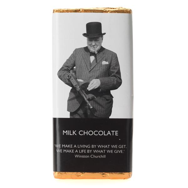 Churchill Tommy Gun Chocolate Bar 100g