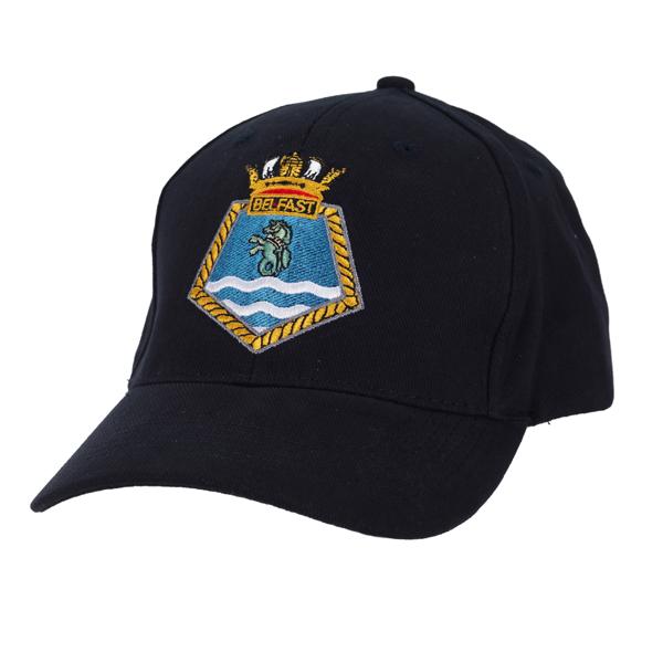 Hms Belfast Crest Baseball Cap
